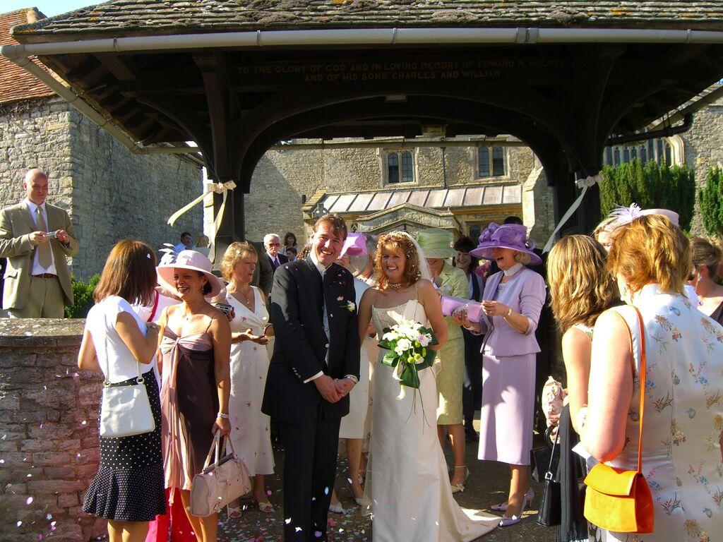 our barn wedding 2002